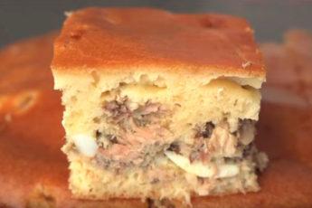 Рыбный пирог по-Советски. Мамин рецепт